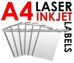 A4 laser computer printing labels labels