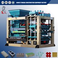 QT5-20 Fully Automatic Color Fly Ash Cement/ Concrete Brick Block Making Machine Price