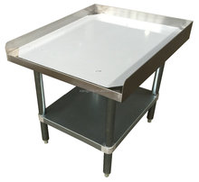 NSF approval detechable stainless steel equipment stand/work table for commercial kitchen or restaurant