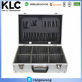 Lockable Aluminium Flight Carry Case Tools Camera Security Storage Box 2 Keys