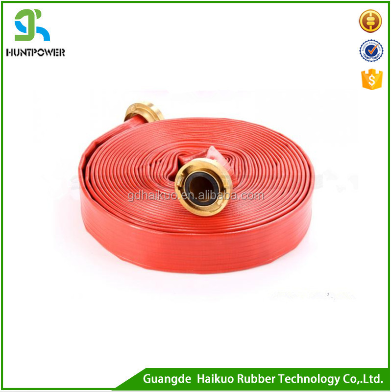 High Duty Agricultural Water Irrigation Pipe System& PVC Layflat Hose Pipe Pump