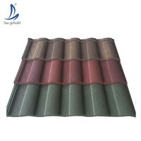 Ghana steel/lowes metal shingles prices/stone chip coated steel roof tiles
