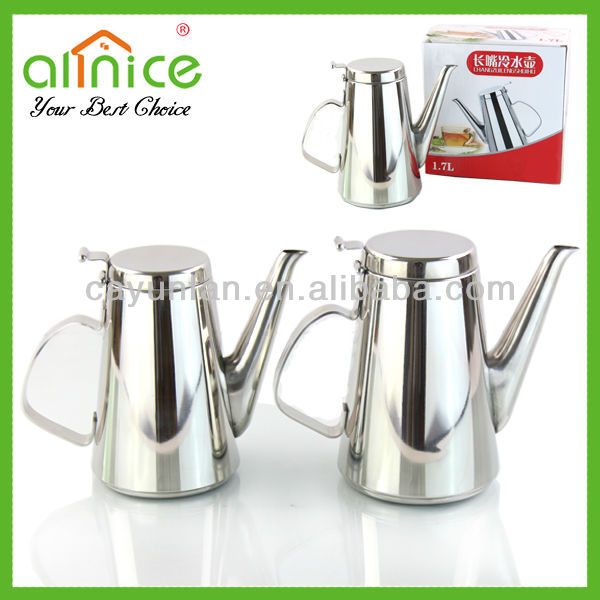 Stainless steel cool water kettle jug/water pot/water bottle