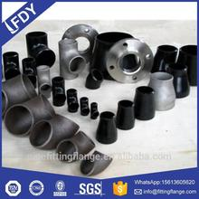 carbon stainless steel ansi b16.9 b16.11 pipe fittings flanges