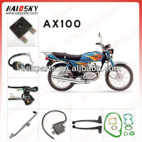 HAISSKY High quality motor part for suzuki ax100 from China factory