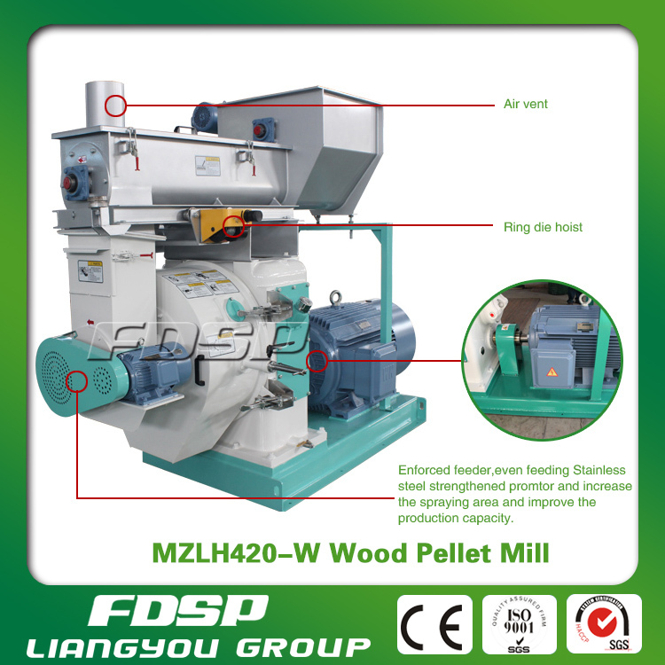 FDSP wood shavings pellet press machine for sale
