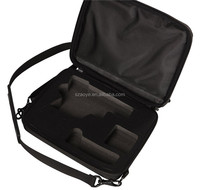 BB Gun Case - Tough Black Armoured EVA Storage Case-Customizable Shock-Absorbing Foam Interior for Storing BB Guns