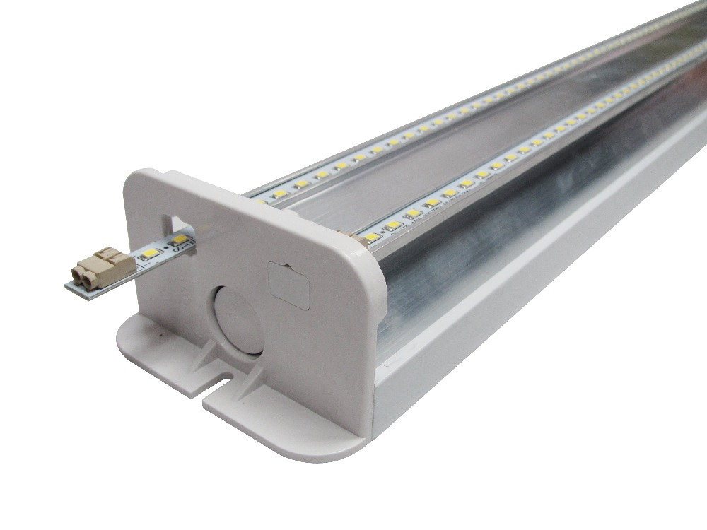 Commercial Office building 4ft 5ft 8ft connectable linear lighting 20w 40w 50w 60w motion sensor stairs led wall light