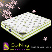 Best selling manufacturer coil spring plush mattress 1026-4