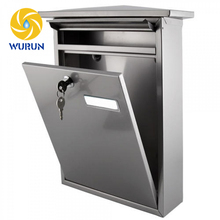 OEM ODM Custom Made Outdoor Apartment Metal Steel Stainless steel Post Wall Mounted Mailbox
