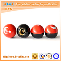 BYC Turkey Flag Car Tire Valve Cap, Turkey Flag Car Spare Parts