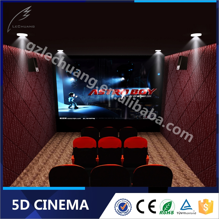 Low Investment Quick Return Mobile 5D Cinema 5D Movie Theater
