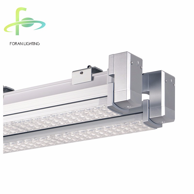 Rotary LED Linear Suspended Light Cable Trunking System 150W LED Linear Light with Alumium Extruded Rail