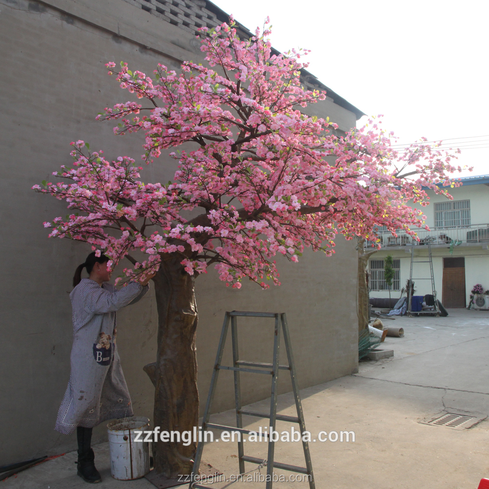 Artificial Cherry Blossom Tree Wedding Decorative Fake Tree Wholesale