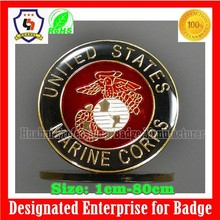2015 new arrival new design epoxy sticker technology round emblem/company logo (HH-emblem-034)