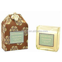 Luxury Gift Boxed lead free Wick Soy Candle