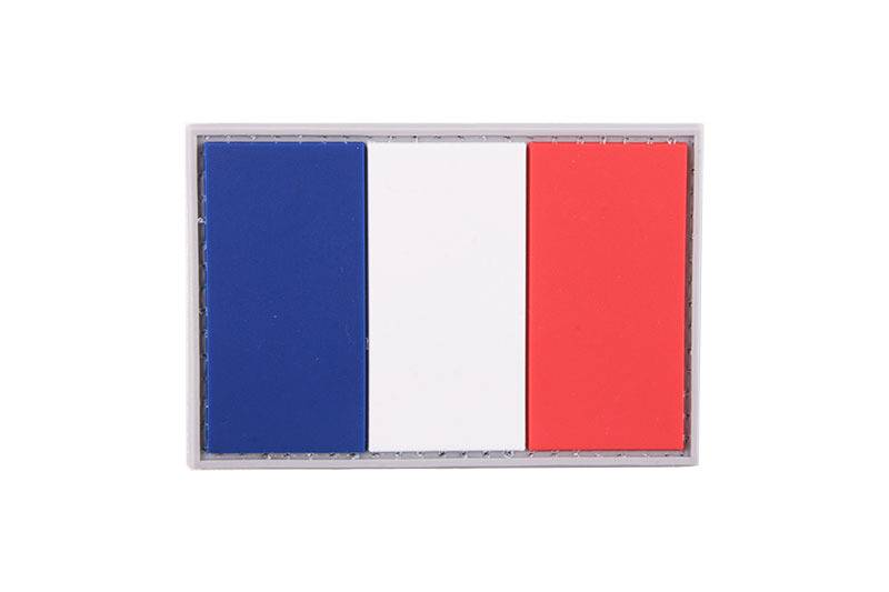 Tactical 3D Rubber Flags Patch France Flag Patches Logo Brand Patch