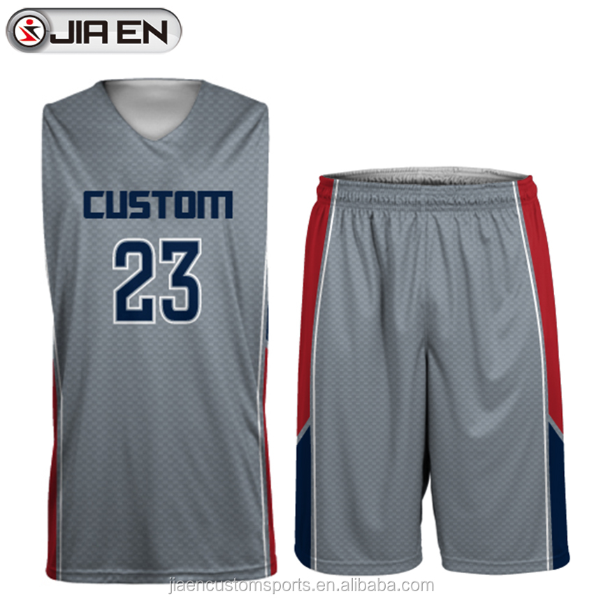 Youth basketball uniforms design wholesale cool basketball jersey