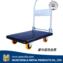 Custom Design Plastic Board Mobile Tool Delivery Cart Trolley Size