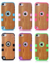 High Quality China Supplier Wood Pattern Back Cover Case for Apple ipod Touch 5 , Case for ipod Touch 5 Direct Buy from China