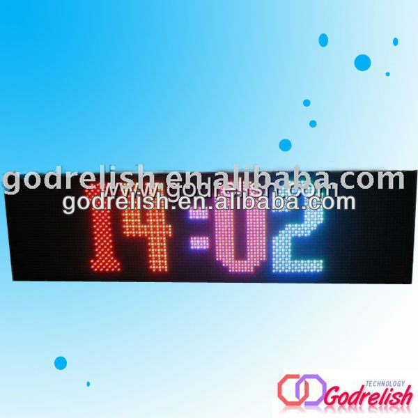 Professional led screen display/xxxx videos/gym display screen good quality