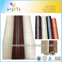wood grain contact paper for door,adhesive removable contact paper,printed pvc film