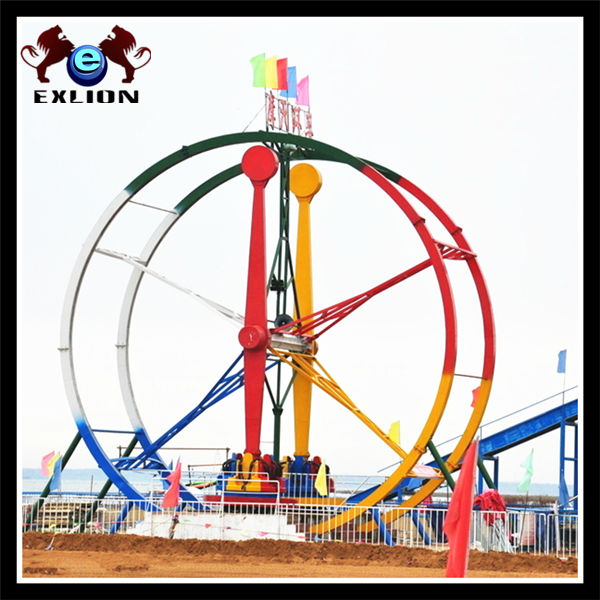 Crazy and Thrilling ! Challenge your heartbeat major ferris ring car for amusement equipment