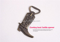 cowboy boot bottle opener for wedding or promotional gifts