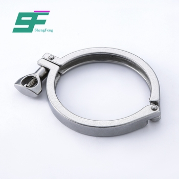 Factory supply reasonable structure standard sanitary stainless steel clamp