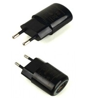 Electric type 5V 1A oval shape USB wall charger for iPhone with CE
