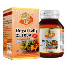 Royal jelly 2% soft capsules 60 capsules anti-aging soybean oil