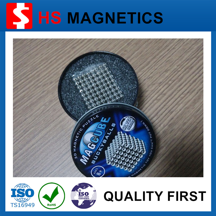 5mm Magic Puzzle Magnetic Ball with 216pcs box
