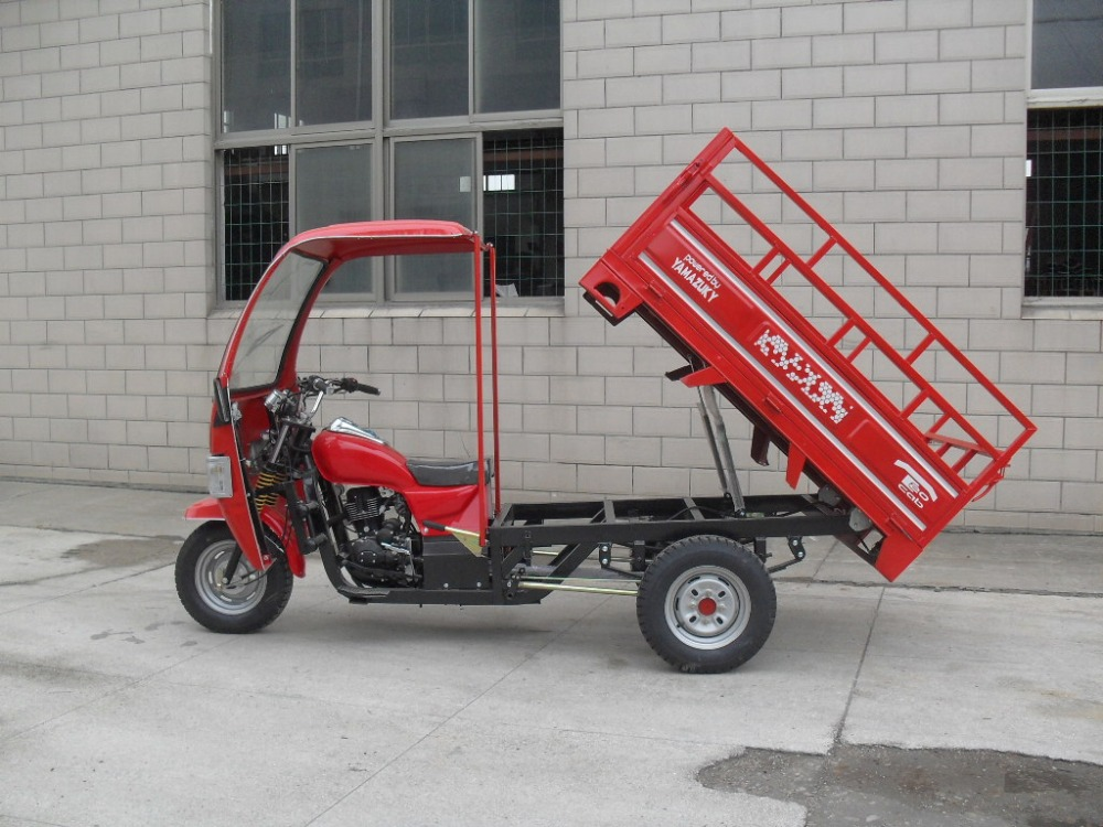 150cc High Quality Three Wheel Motorcycle With Cabin Cargo Use For On Sale