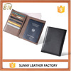 Handmade Quality Safe ID Protection Travel Case, RFID Blocking Leather Passport Cover