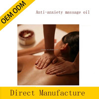 Anti-anxiety massage oil blended essential oil oem/odm natural oil