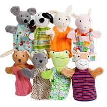 customize best seller finger puppets animal with many style wholesale china