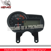 EN125-3E Motorcycle Meter with digital lcd speedometer and Luminous