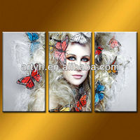 Latest designs United Kingdom woman queen painting on canvas for sale