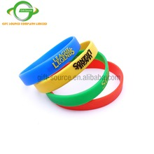 cheapest silicone bracelets embossed wristband giveaways products