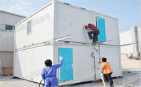 Dismountable boat 40ft Prehab Container Homes for sale in USA