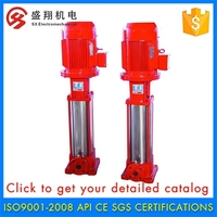 New Arrival High Efficiency Booster, Vertical Diesel Engine Fire Pump