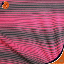 STRIPE FABRIC WITH NYLON AND LYCRA / FOR UNDERWEAR