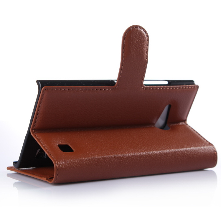Good quality best selling book case for nokia for lumia730 cell phone