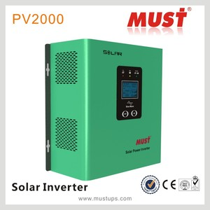 MUST PV2000 500va solar inverter with built-in charge controller