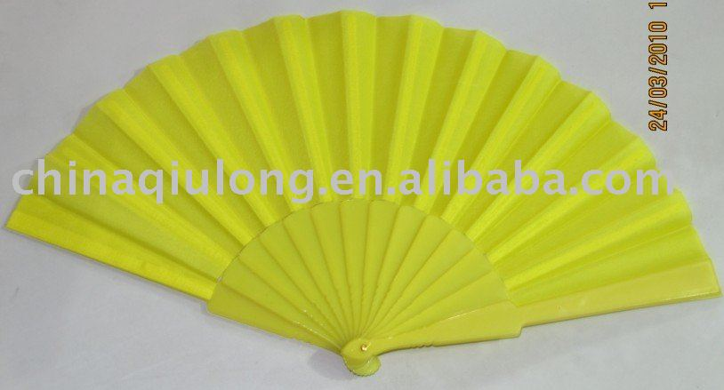 Craft Plastic / Paper Hand Fan
