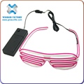 wholesale led sunglasses , halloween Glow In The Dark El Light Wire Cool Led Sunglasses