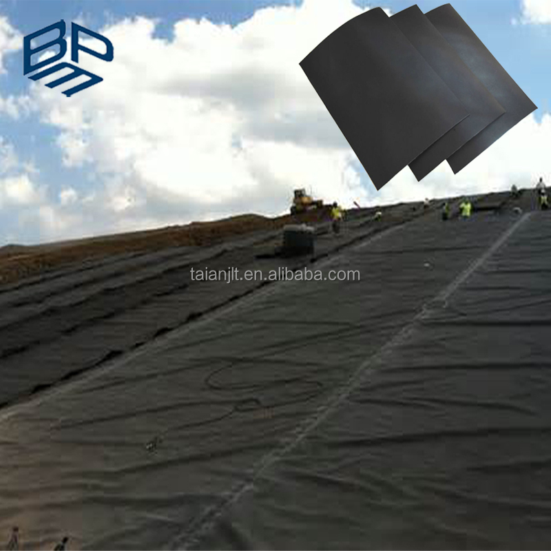 The Plastic Waterproofing Membrane 1.5mm HDPE Geomembrane Dam Lining