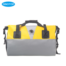 Camping Hiking Mountain Colorful Stiching500D PVC Tarpaulin Foldable Waterproof Travel Bag Duffle Bag