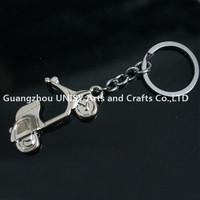 Wholesale promotional Racing motorcycle design keyring /Racing motorcycle key chain key holder for wholesale