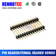 14pin header 0.8mm /1.5mm Pitch Pin Header Dual Row Straight Type Pin Header